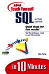 Sams Teach Yourself SQL in 10 Minutes, Adobe Reader by Ben Forta