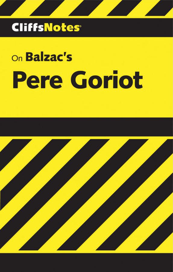 Balzac's Pere Goriot