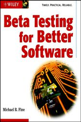 Beta Testing for Better Software