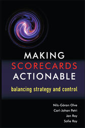 Making Scorecards Actionable by Nils-Göran Olve