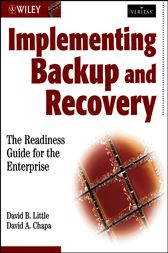 Implementing Backup and Recovery by David B Little