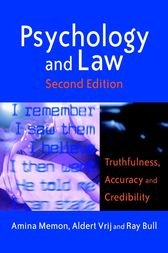 Psychology and Law by Amina A Memon