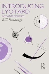 Introducing Lyotard by Bill Readings
