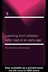 Learning From Children Who Read at an Early Age by Diana Hughes