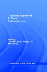 Trade and Investment in China by Jim Slater