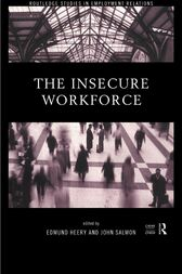 The Insecure Workforce by Edmund Heery