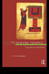 The Jewish Temple by Robert Hayward