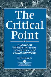 The Critical Point by C Domb