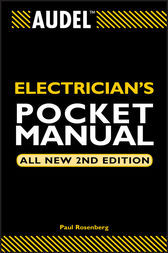 Audel Electrician's Pocket Manual by Paul Rosenberg