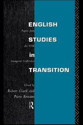 English Studies in Transition by Piero Boitani