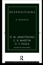 Dispositions by D.M. Armstrong