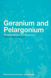 Geranium and Pelargonium: The genus Geranium and Pelargonium