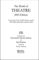 World of Theatre 2003 Edition by Ian Herbert