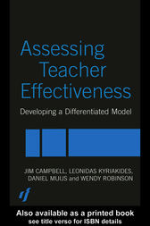 Assessing Teacher Effectiveness by Jim Campbell