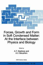 Forces, Growth and Form in Soft Condensed Matter
