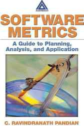 Software Metrics by C. Ravindranath Pandian
