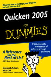 Quicken 2005 For Dummies by Stephen L. Nelson