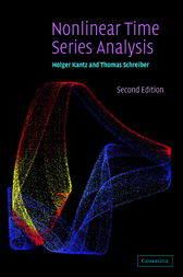 Nonlinear Time Series Analysis by Holger Kantz