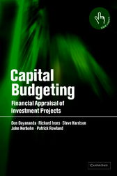 Capital Budgeting by Don Dayananda