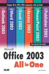 Microsoft Office 2003 All-in-One by Joe Habraken