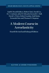 A Modern Course in Aeroelasticity by Robert Clark