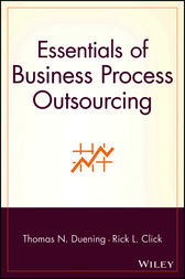 Essentials of Business Process Outsourcing by Thomas N. Duening
