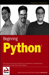 Beginning Python by Peter C. Norton