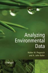Analyzing Environmental Data by Walter W. Piegorsch