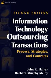 Information Technology Outsourcing Transactions