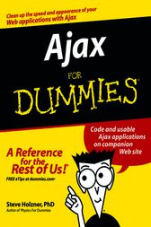 Ajax For Dummies by Steve Holzner