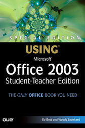 Special Edition Using Microsoft Office 2003, Student-Teacher Edition, Adobe Reader