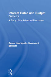Interest Rates and Budget Deficits by Kanhaya L. Gupta