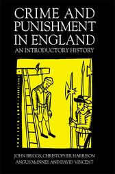 Crime And Punishment In England by John Briggs