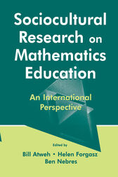 Sociocultural Research on Mathematics Education by Bill Atweh