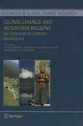 Global Change and Mountain Regions by Uli M. Huber