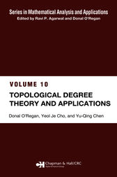 Topological Degree Theory and Applications by Yeol Je Cho