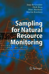 Sampling for Natural Resource Monitoring by Jaap De Gruijter