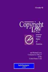 Copyright Law of the United States of America by U.S. Copyright Office