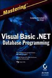 Mastering Visual Basic .NET Database Programming by Evangelos Petroutsos