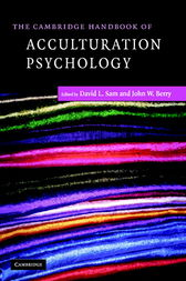 The Cambridge Handbook of Acculturation Psychology by David L. Sam