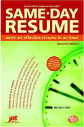 Same-Day Resume by Farr
