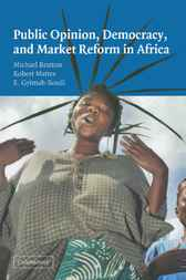Public Opinion, Democracy, and Market Reform in Africa by Michael Bratton