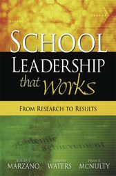 School Leadership That Works by Robert J. Marzano