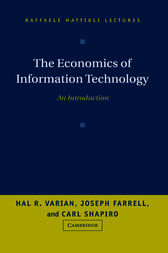 The Economics of Information Technology by Hal R. Varian