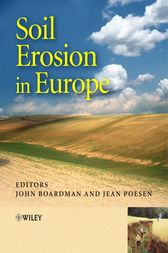 Soil Erosion in Europe by John Boardman