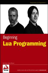 Beginning Lua Programming by Kurt Jung