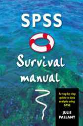 julie pallant spss survival manual