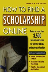 How to Find a Scholarship Online by Shannon Turlington