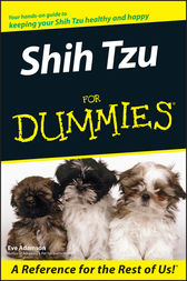 Shih Tzu For Dummies by Eve Adamson
