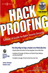 Hack Proofing Linux by James Stanger